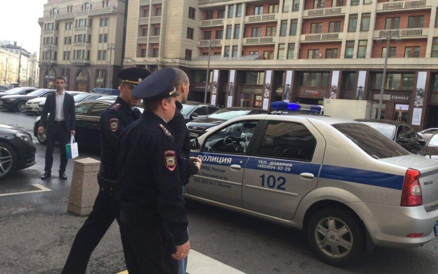 У здания Госдумы задержали оппозиционера Сергея Удальцова