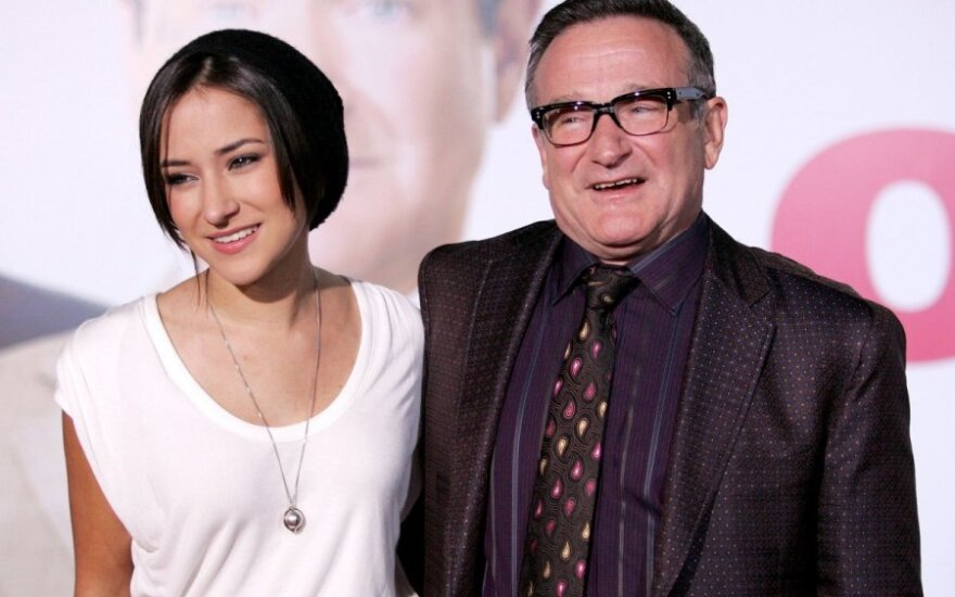 Zelda Williams ir Robinas Williamsas