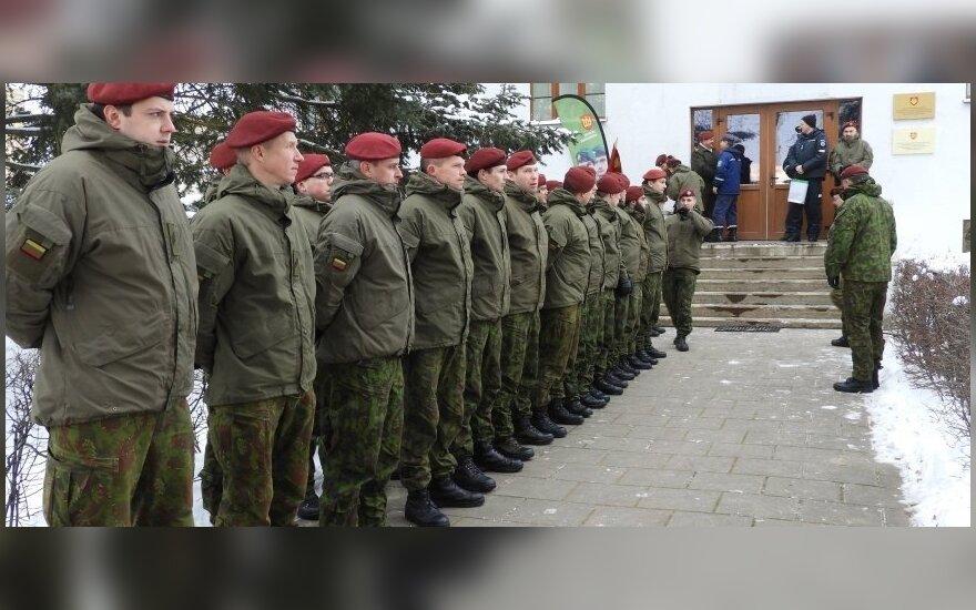 """Rokiškio kariai savanoriai // """"Rokiškio sirenos"""" nuotr."""
