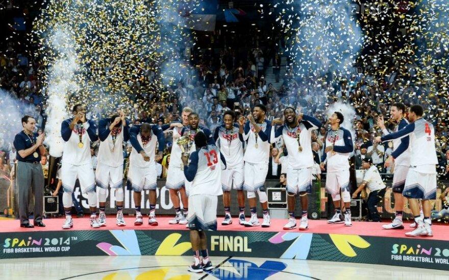 Сборная США в пятый раз выиграла ЧМ по баскетболу