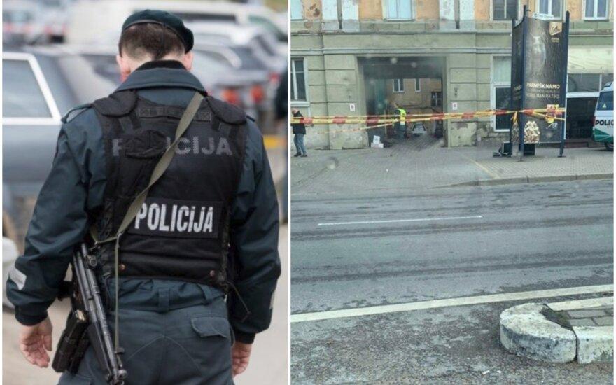 В Клайпеде на улице найдено тело мужчины