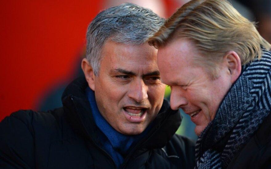 Моуринью стал тренером года в Англии