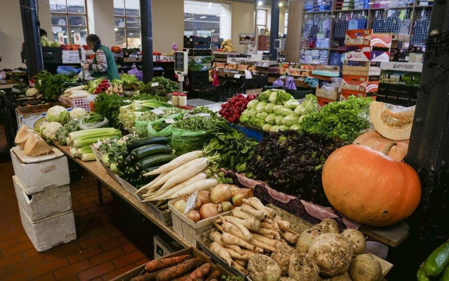 Сколько в этом году в Литве стоят свежие овощи