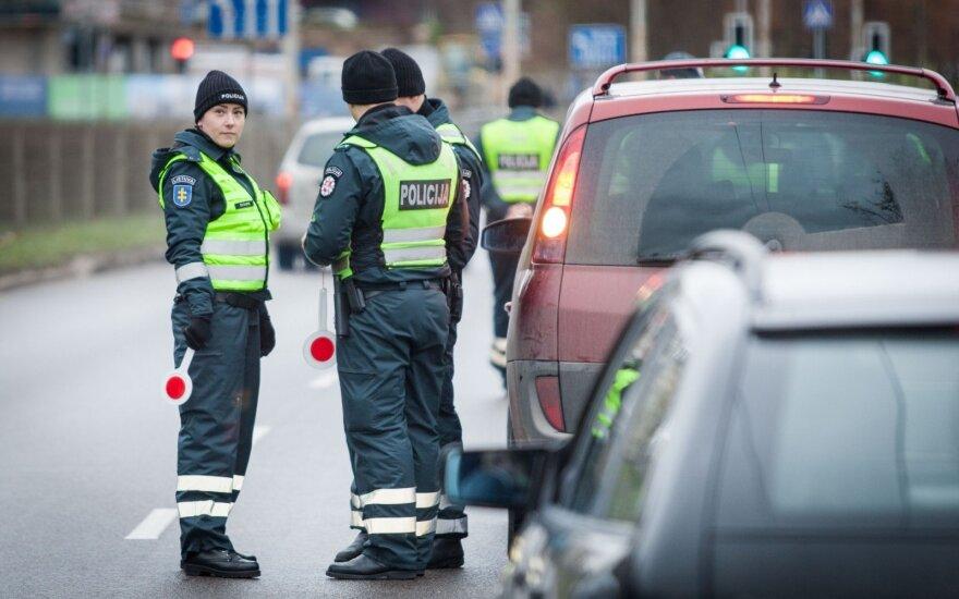Рейд полиции в Вильнюсе: нетрезвых водителей останавливали больше обычного