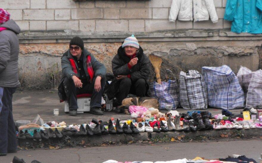 Mołdawia. Przy każdym dworcu jest targ