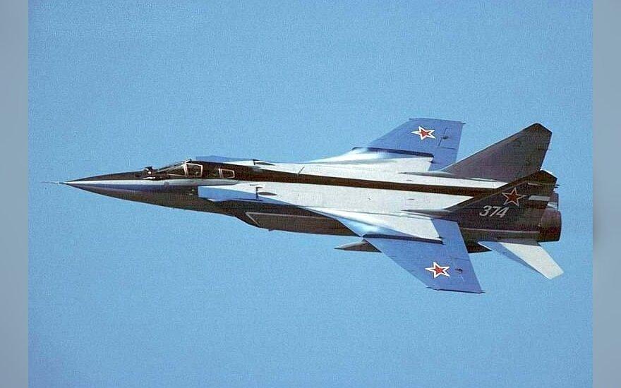 Под Пермью в воздухе взорвался МиГ-31, оба пилота погибли