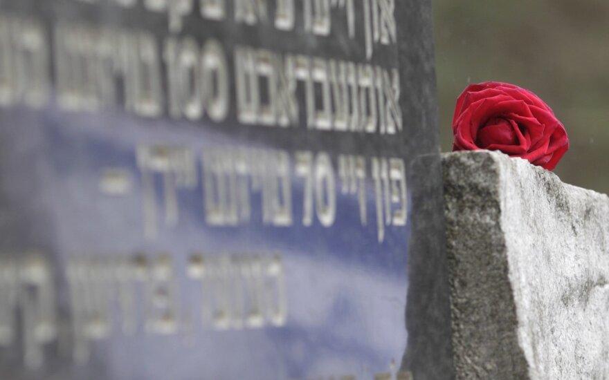 """В Вильнюсе открывают """"Камни преткновения"""" в память жертв Холокоста"""