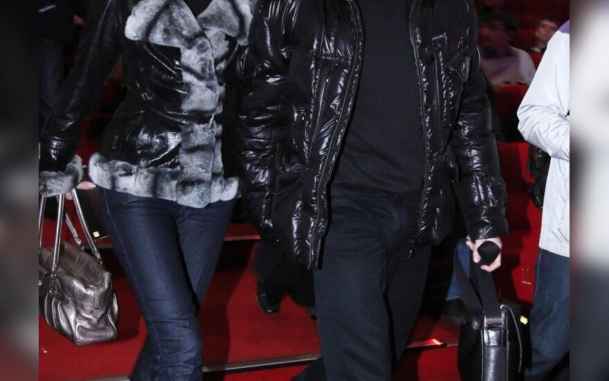 Sergejus Bezrukovas su žmona Irina Bezrukova