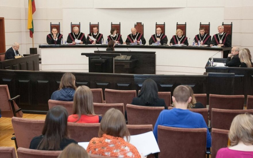 Konstitucinio teismo posėdis