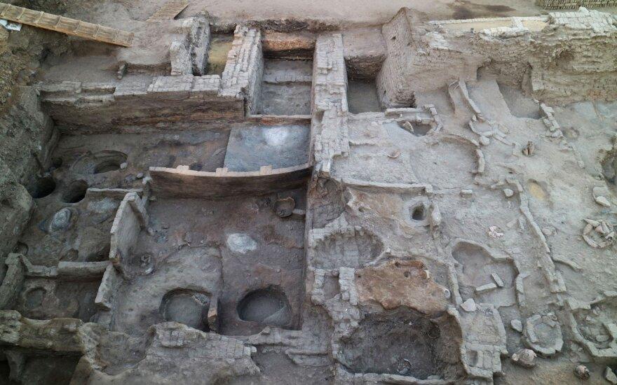 Archeologų radinys Egipte