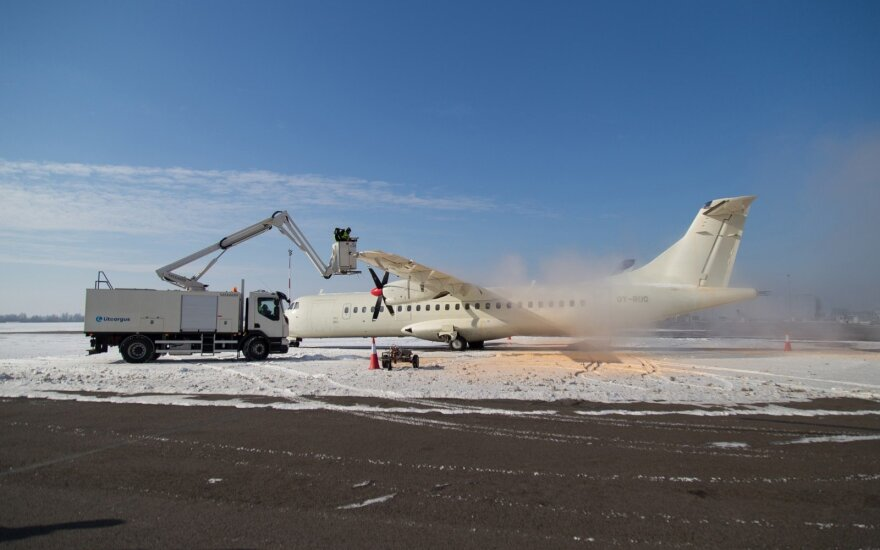 Каунасский аэропорт показал новую технику за 350 000 евро