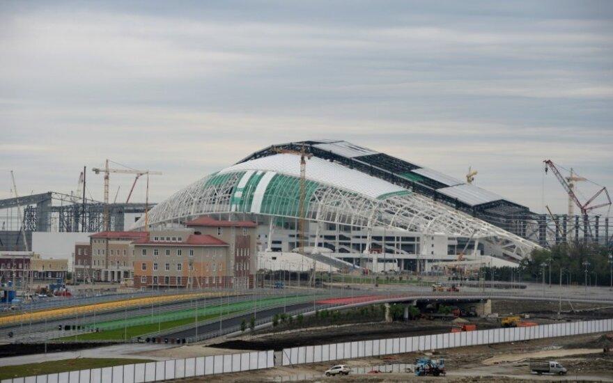 Statomas olimpinis stadionas Sočyje