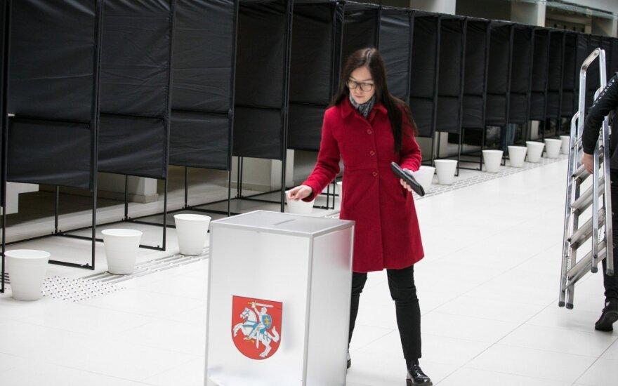 Досрочное голосование на выборах президента Литвы и в референдумах продолжается