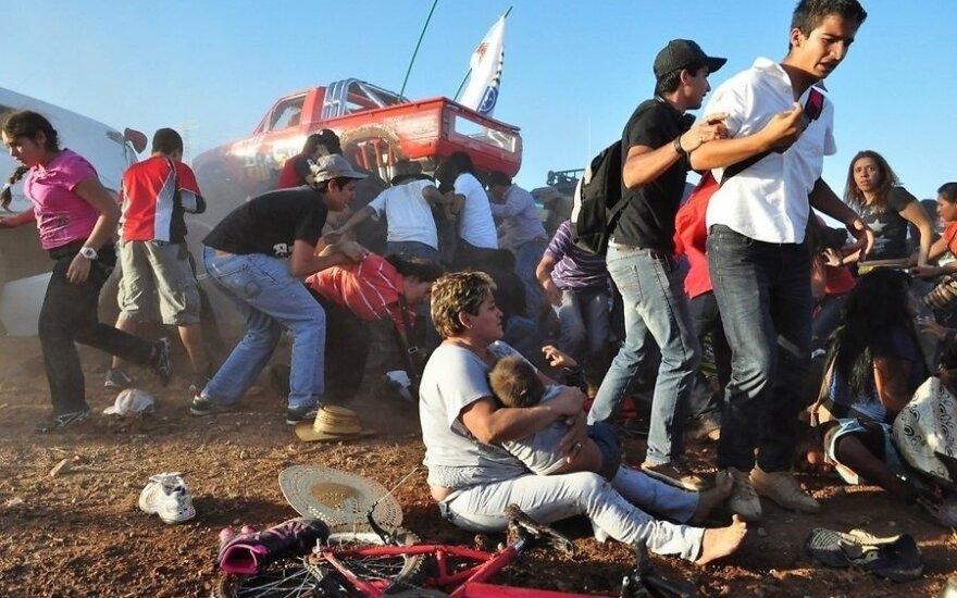 В Мексике монстр-трак въехал в толпу зрителей: шесть погибших, полсотни раненых