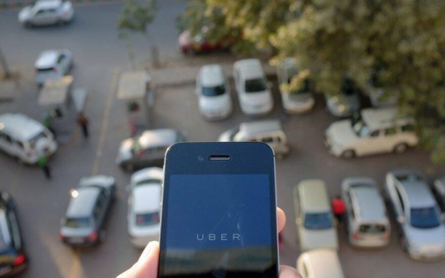 Indijos Uber taksi