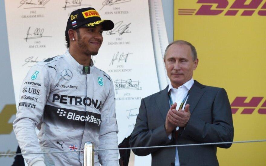 Lewisas Hamiltonas ir Vladimiras Putinas