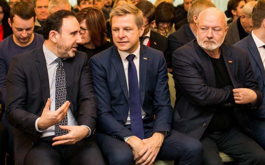 Arūnas Gelūnas, Remigijus Šimašius ir Eugenijus Gentvilas