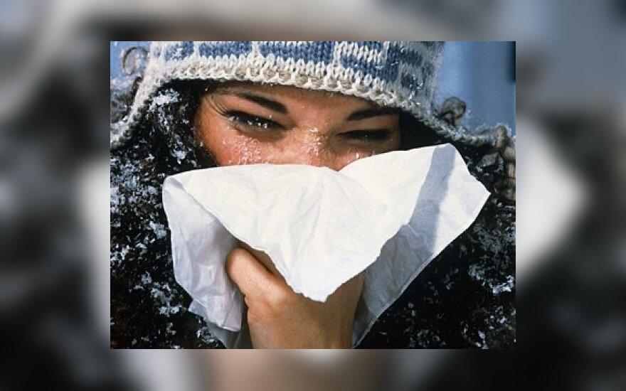 На Литву надвигается грипп