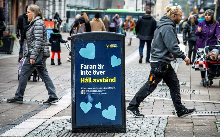 Koronavirusas Švedijoje