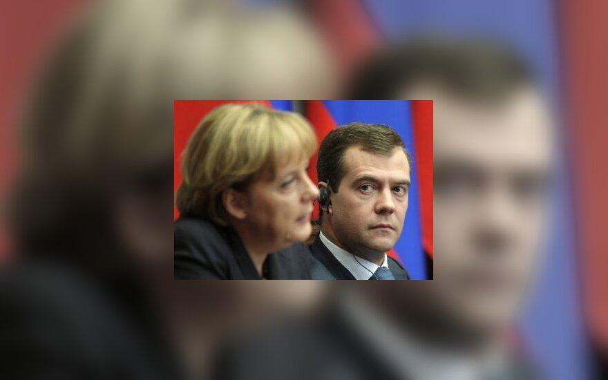 """Меркель вступилась за """"Северный поток"""""""