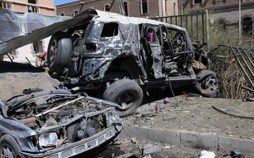 В Йемене произошел взрыв близ резиденции президента страны