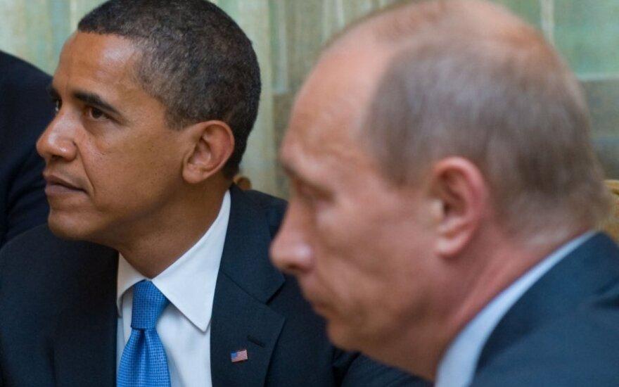 Путин поздравил Обаму с Новым годом