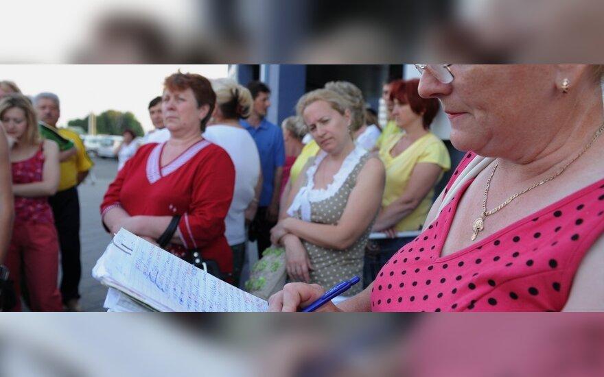 В Минске все спокойно, идут переклички и цены растут