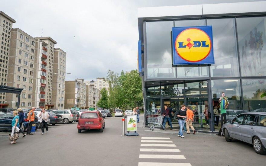 Три недели после открытия Lidl в Каунасе: картина поражает