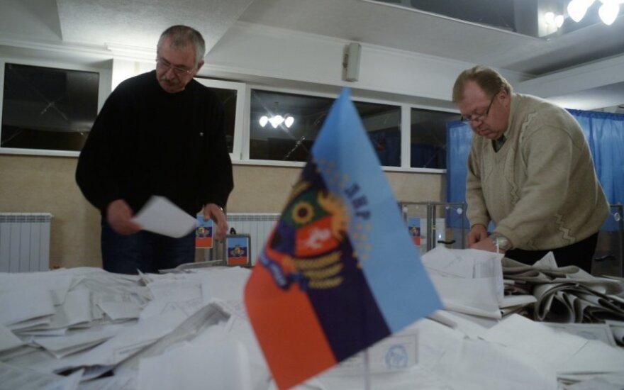 Europa, Kijów i USA nie uznają wyborów w Donbasie