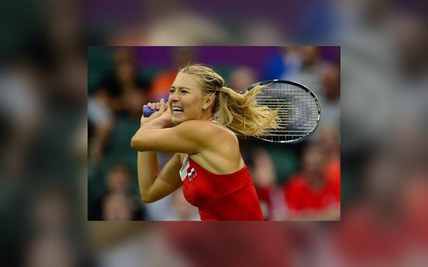 Российская теннисистка Шарапова вылетела в первом же круге турнира в Торонто