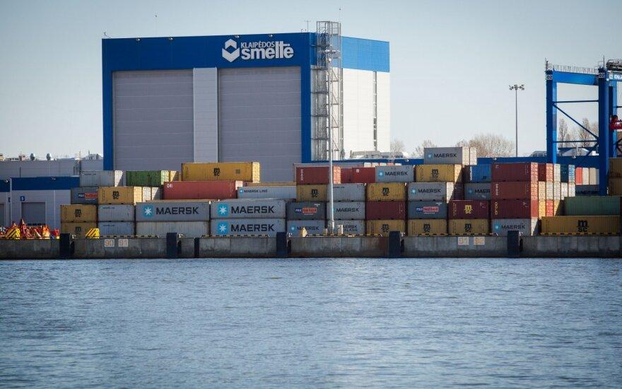 Клайпедский порт продолжает лидировать по погрузкам среди портов Балтийских стран