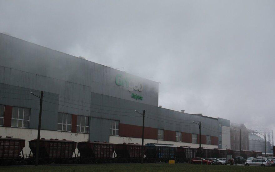 Департамент охраны окружающей среды проведет внеплановую проверку Grigeo Klaipeda