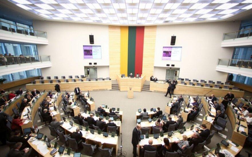 На первое заседание собирается Сейм Литвы нового созыва