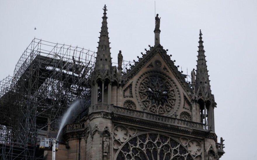 Švč. Dievo Motinos katedra po gaisro
