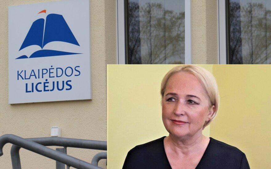 Klaipėdos licėjaus vadovė Regina Kontautienė