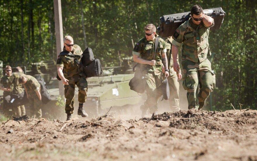 К батальону НАТО в Литве присоединяться военные Люксембурга