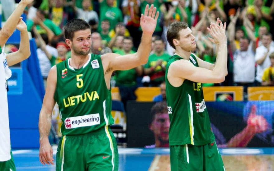 Mantas Kalnietis ir Martynas Pocius