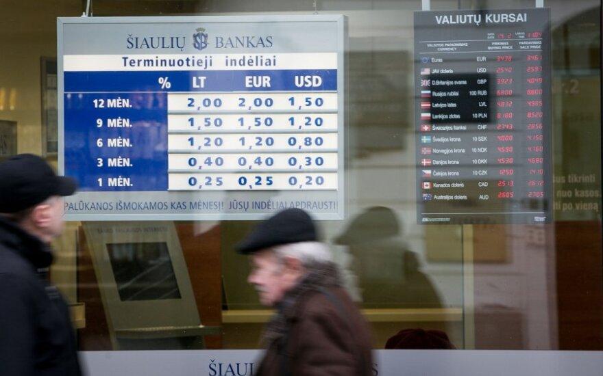 Šiaulių bankas, если присоединит Ūkio bankas, станет больше, но будет меньше Snoras