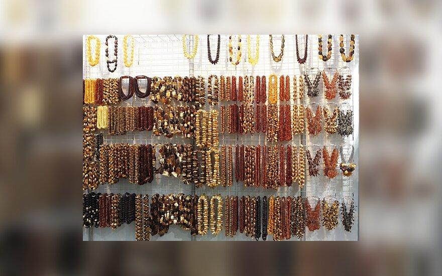 Предприниматели Паланги завлекают отдыхающих янтарем
