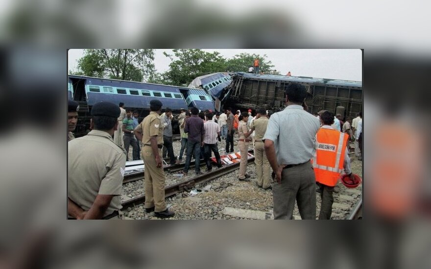 Traukinio katastrofa Indijoje