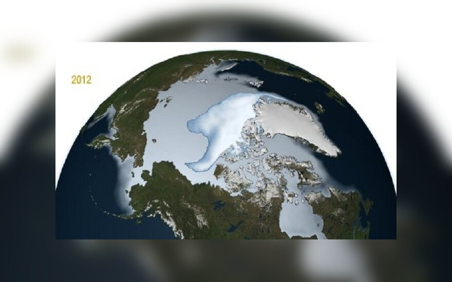 Arkties ledynai 2012 m.