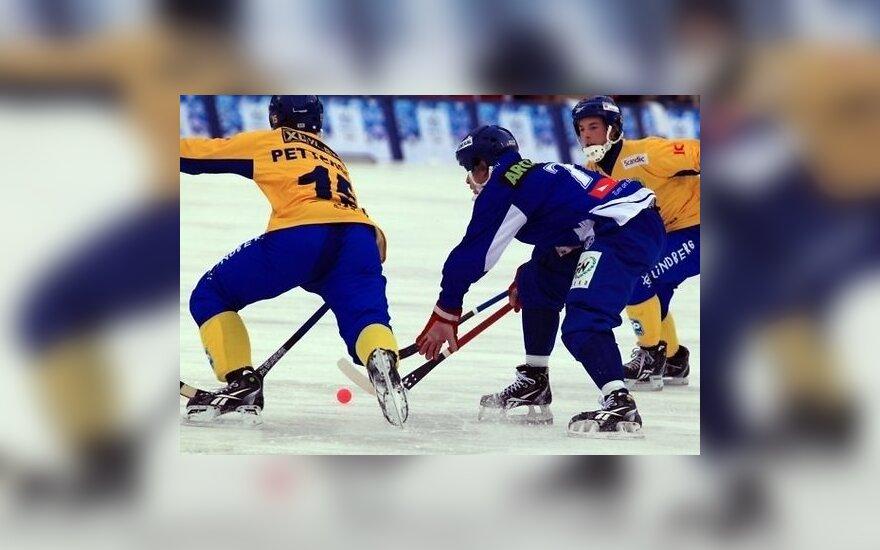 Россия в финале обыграла шведов в 27-градусный мороз
