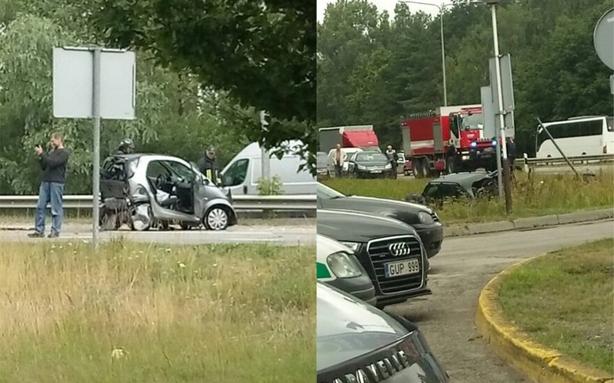 Серьезное ДТП на дороге А1: есть пострадавшие, перекрыто движение