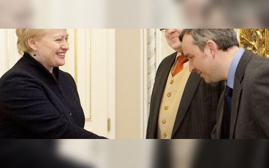 Dalia Grybauskaitė, Vitas Vasiliauskas, Raimondas Kuodis