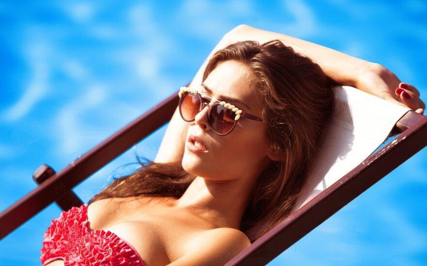 Солнце – причина купероза и морщин