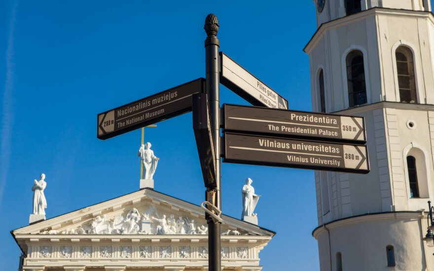 В Старом городе Вильнюса действует кольцевое движение: что необходимо знать?