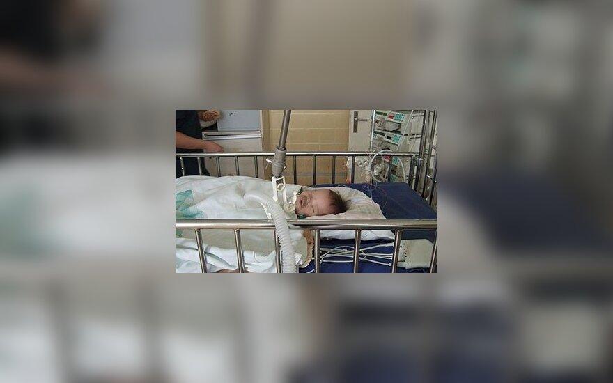 Vaikų reanimacija, ligoninė, vaikas