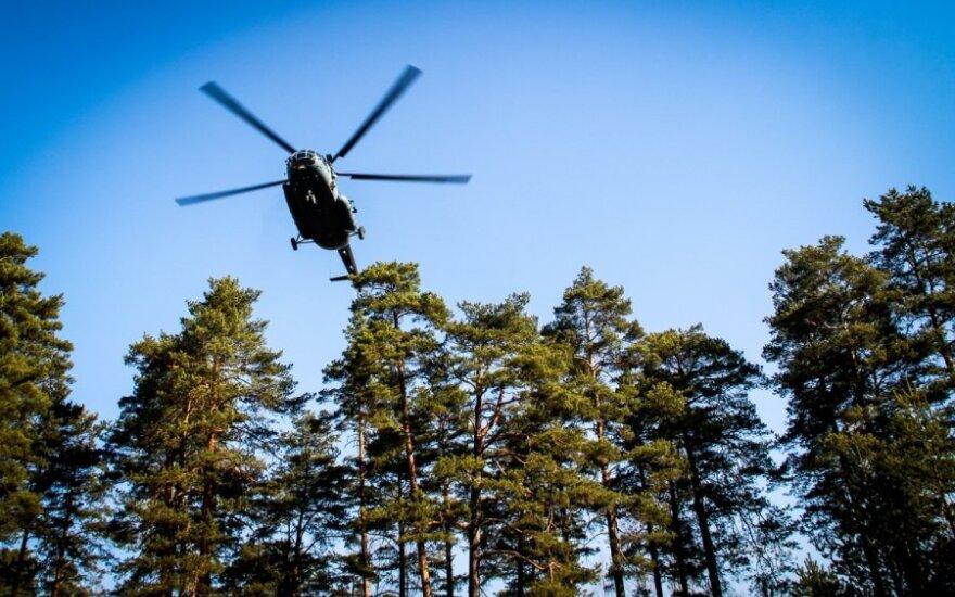 Российские вертолеты залетали на территорию Литвы