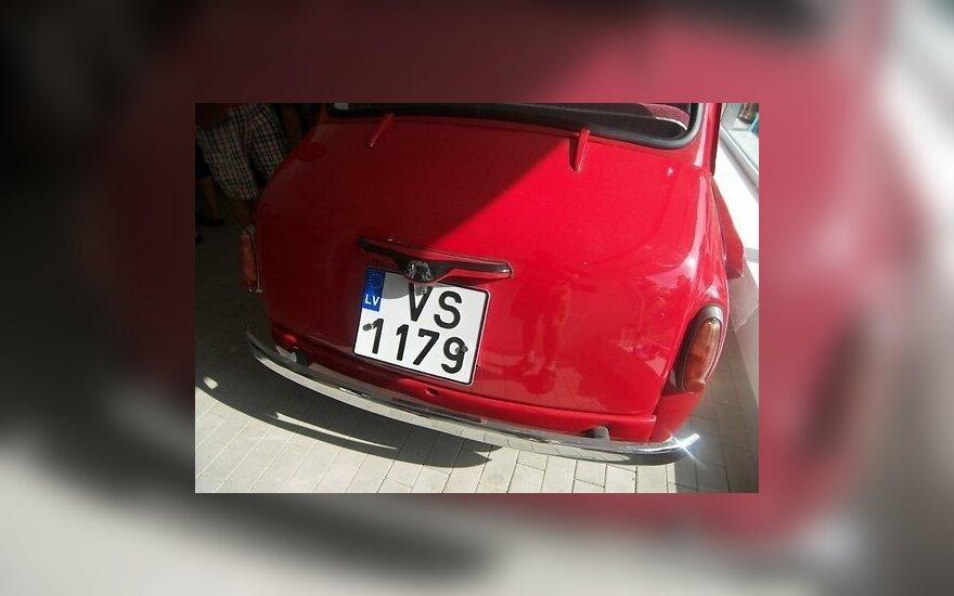 В латвийской Елгаве открылся музей советских автомобилей
