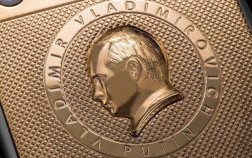 """Caviar Supremo Putin II"" išmanusis telefonas"